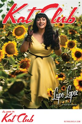 Kat Club No.32 – Lupe Lopez Cover Poster