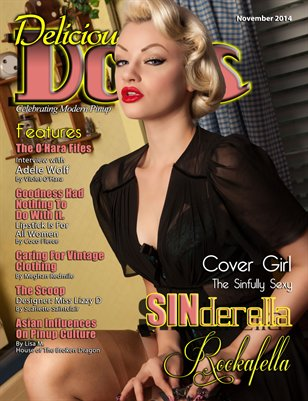 Delicious Dolls November 2014 Issue - SINderella Rockafella