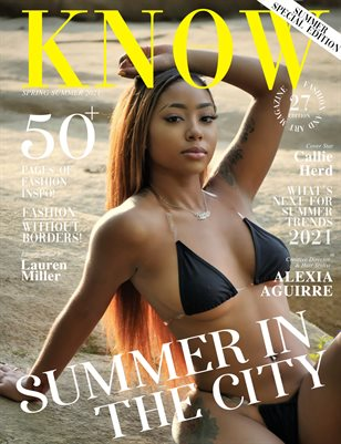 KNOW magazine_Summer In The City