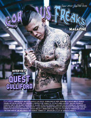 Issue 49-50 Cover Model: Quest G
