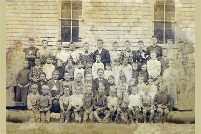 1891 Darnall School, Marshall County, Kentucky