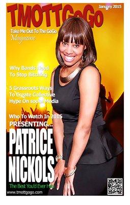 TMOTTGoGo Magazine - Patrice Nickols - January 2015