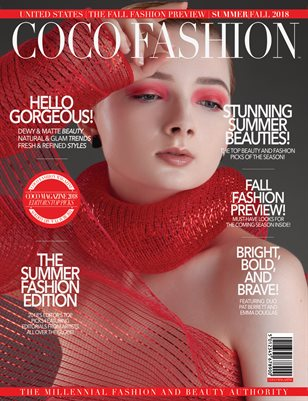 COCO Fashion Magazine - The Fall Fashion Preview - Vol. 4