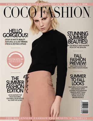 COCO Fashion Magazine - The Summer Fashion Edition - September 2018 Vol. 8