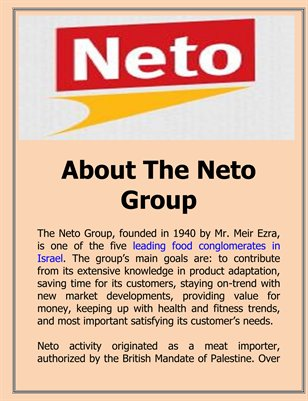 About The Neto Group
