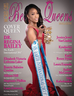 World Class Beauty Queens Magazine with Regina Bailey