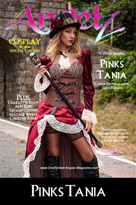 ENCHANTED ANGELZ MAGAZINE COVER POSTER - COSPLAY 2nd Special Ed - Cover Model Pinks Tania - December 2020