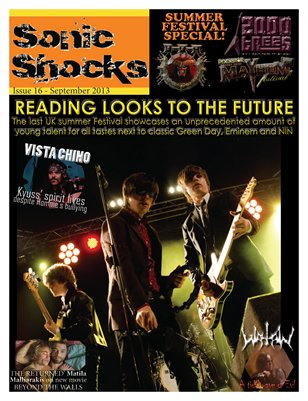SONIC SHOCKS Issue 16 - September 2013