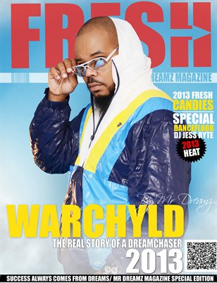 FRESH EDITION WARCHYLD MR DREAMZ MAGAZINE