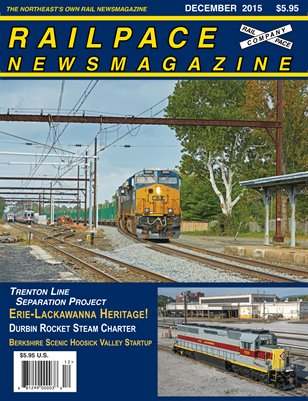 DECEMBER 2015 Railpace Newsmagazine