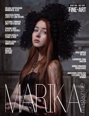 MARIKA MAGAZINE FINE-ART (ISSUE 1139 - JULY)