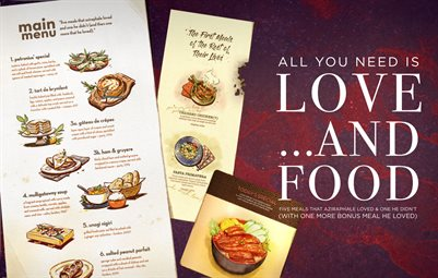 All You Need is Love...and Food - BOOK