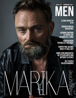 MARIKA MAGAZINE MEN (ISSUE 577 - February)