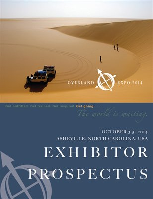 Overland Expo EAST 2014 Exhibitor Prospectus