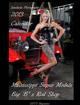 "Envy Magazine 2013 Calendar ""Hot Rod Girls"""
