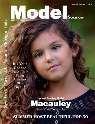 Model Source magazine Issue 11 volume 11 2019 Summer Most Beautiful Top 50