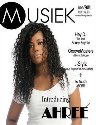 Musiek June Issue 2016 featuring Ahree'