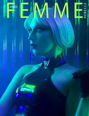 Femme Rebelle Magazine June 2020 - Adrian Wyer Cover