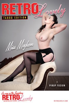 Miss Mayhem Cover Poster