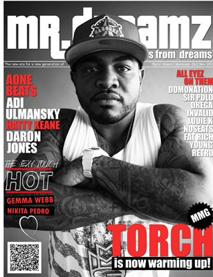 MR DREAMZ MAGAZINE TORCH