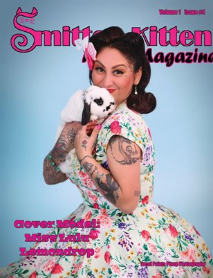 Smitten Kitten Pinup Magazine Cover 5 Miss Lulu Lemondrop April 2020 Issue