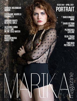 MARIKA MAGAZINE PORTRAIT (ISSUE 844 - APRIL)