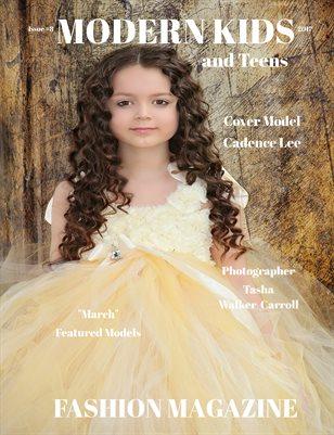 Modern Kids & Teens Fashion Magazine,Issue #8-March-