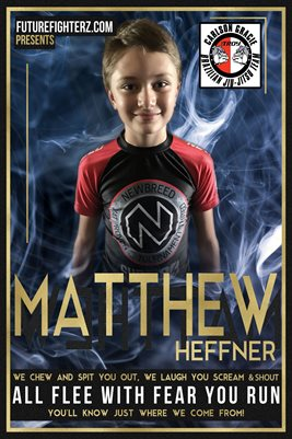 Matthew Heffner Blue Smoke Poster