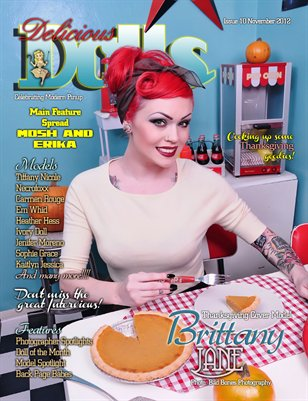 Delicious Dolls Issue 10 - Thanksgiving Cover