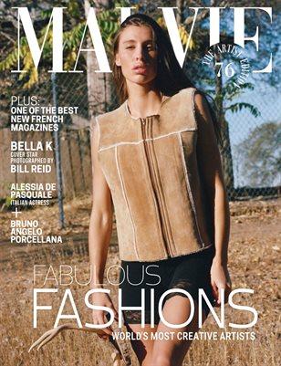 MALVIE Mag The Artist Edition Vol 76 December 2020