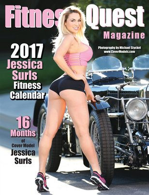 2017 Jessica Surls Fitness Quest Calendar