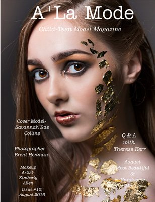 Issue # 13 August Most Beautiful & Handsome