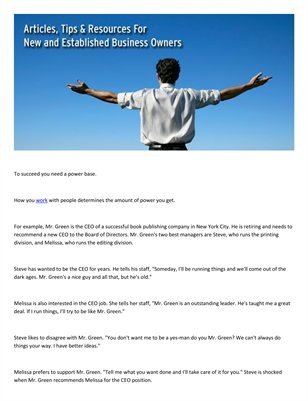 Tips for success: Meir Ezra