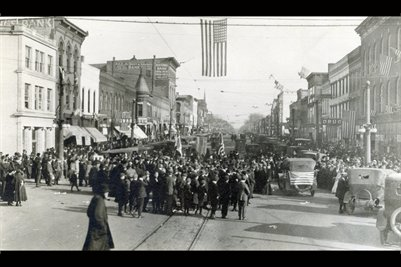 The end of WW1 Liberty Day,November 11, 1918 Kankakee County,Illinois