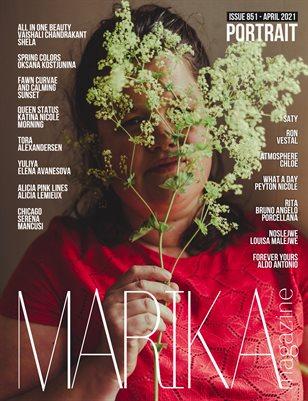 MARIKA MAGAZINE PORTRAIT (ISSUE 851 - APRIL)