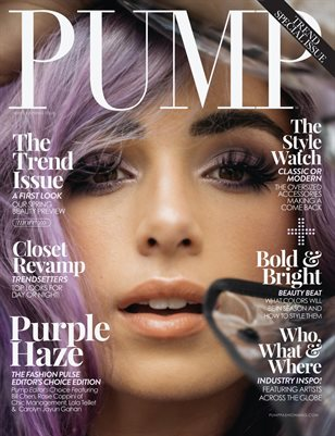 PUMP Magazine | The Trend Issue | Vol.1 | Feb. 2021