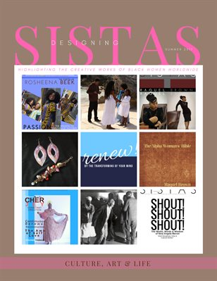 Designing Sistas Magazine, Summer 2017 Digital