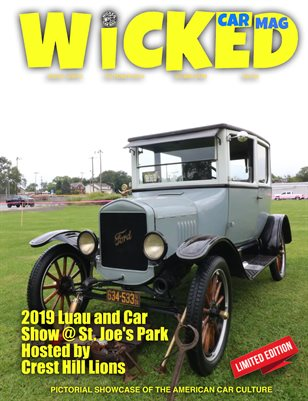 WICKED CAR MAGAZINE 1924 FORD MODEL T