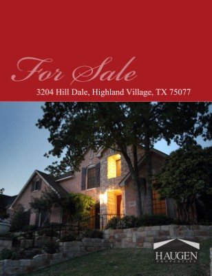 Haugen Properties - 3204 Hill Dale, Highland Village, Texas 75077