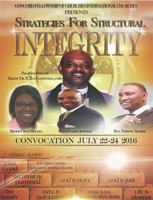 2016 CFCI Convocation