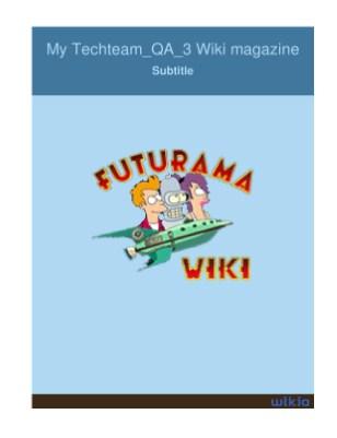 My Techteam_QA_3 Wiki magazine