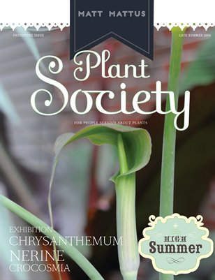 Plant Society, Issue 1