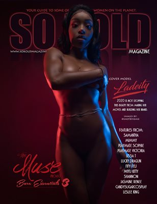 SO KOLD MAGAZINE ~ THE MUSE PROJECT 3: COVER MODEL ~ LADEITY