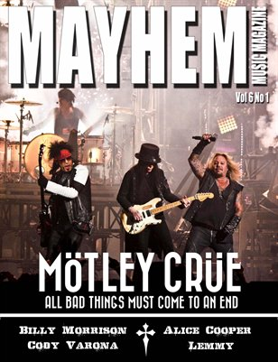 Mayhem Music Magazine Vol. 6 No. 1