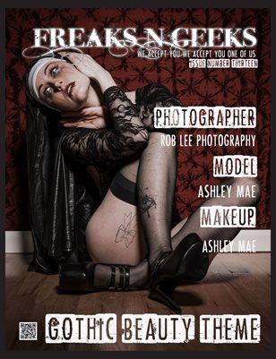 Freaks N Geeks Issue 13 Gothic Beauty