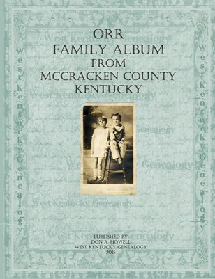 Orr Family Album, McCracken County, Kentucky