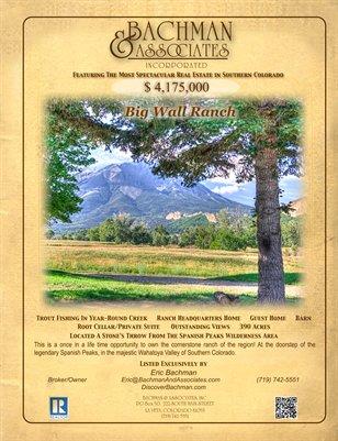 Big Wall Ranch Brochure