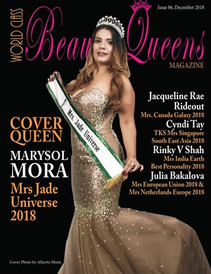 World Class Beauty Queens Magazine Issue 86 with Marysol Mora