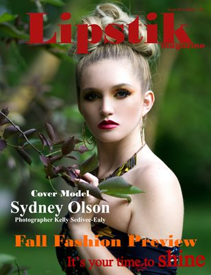 "Lipstik magazine Issue 10 volume 7 19"" Fall Fashion Preview"