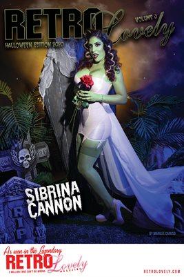 Sibrina Cannon Cover Poster